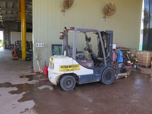 Forklift 2.5 ton