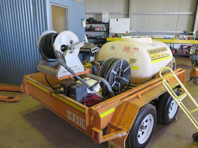 Fire Tender Diesel